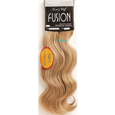 Fusion Hair Extension BODY PONY Wave - 16inch Human Hair - 80piece