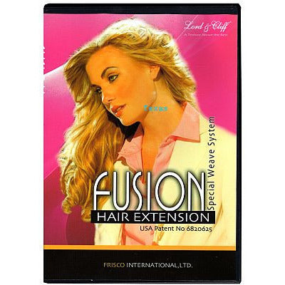 Fusion Hair Extension - Special Weave System DVD