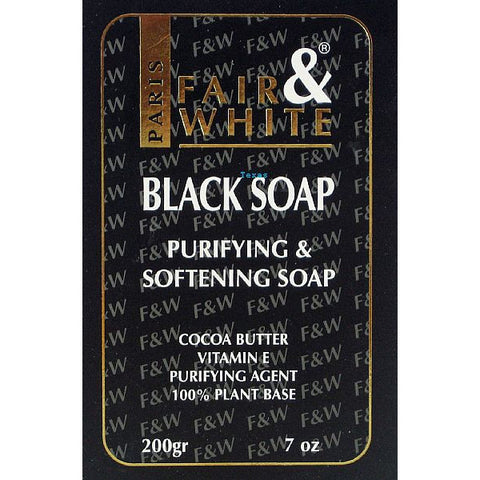Fair and White BLACK SOAP - 7oz