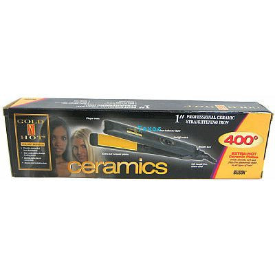 Goldn Hot Ceramics 1inch Straightening Iron - GH2027