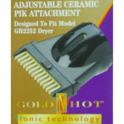 Goldn Hot Ceramic PIK Attachment for GH2253 Hair Dryer