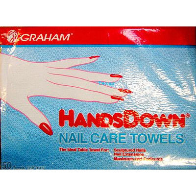 Graham Hands Down Nail Care Towels - 50count