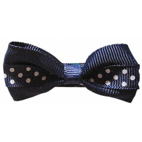 Hair Bow - small hairbow with dots