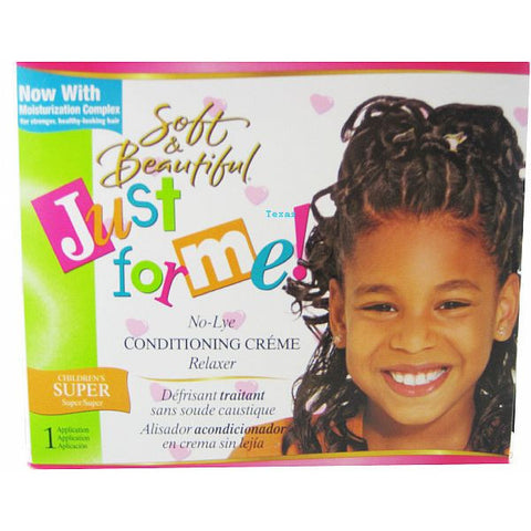 Just For Me NO LYE Conditioning Creme Relaxer Kit