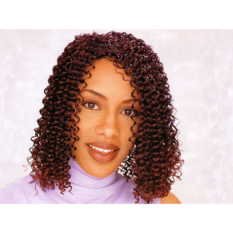 K Supreme J Curl Weaving Hair - 100% Kanekalon Hair 18 Inch