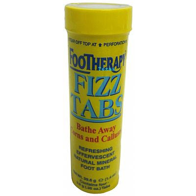 FOOTHERAPY FIZZ TABS Bathe Away Corns and Calluses - 1.4oz stick