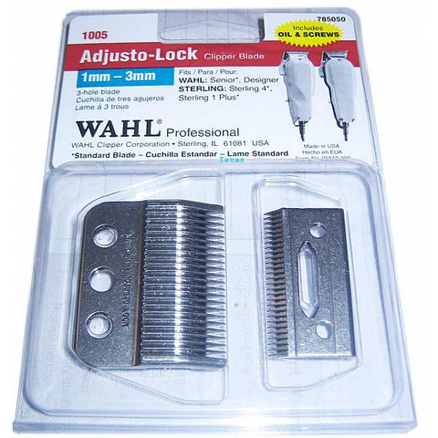 Wahl Replacement Clipper Blade - 1mm to 3mm # 1005