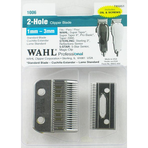 Wahl Replacement Clipper Blade - 1mm to 3mm # 1006