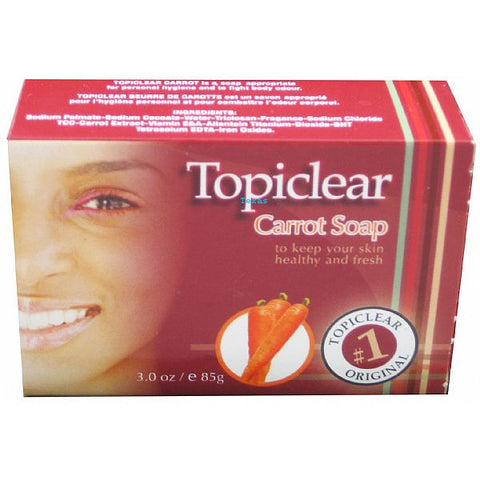 Topiclear Carrot Soap - 3oz bar #13301