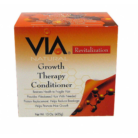Via Natural Revitalization Growth Therapy Conditioner - 15oz