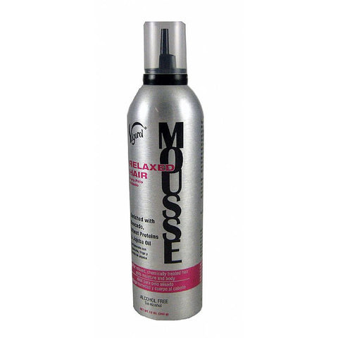 Vigorol Relaxed Hair Mousse - 12oz mousse