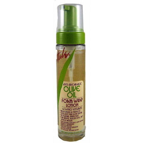 Vitale Olive Oil Anti Breakage Foam Wrap Lotion - 8oz foam