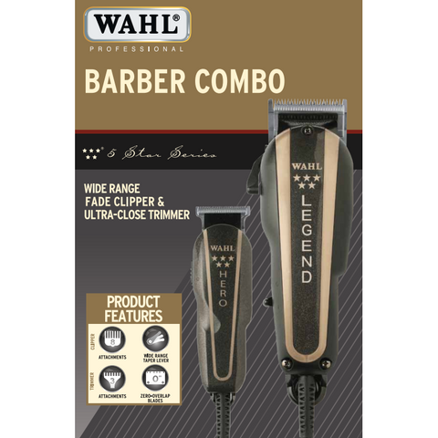 Wahl Professional 5 Star Series Barber Combo