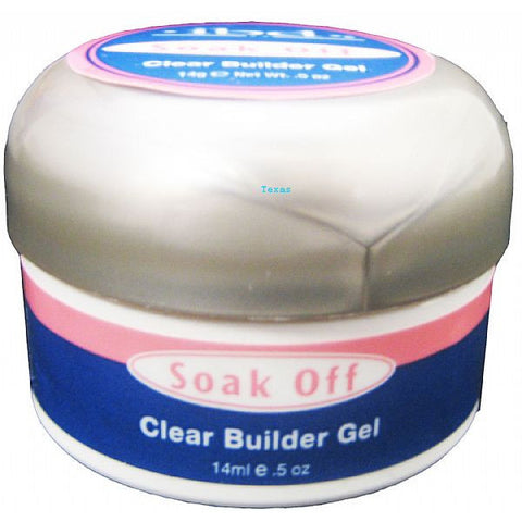 IBD Soak Off Clear BUILDER Gel  - 0.25oz jar