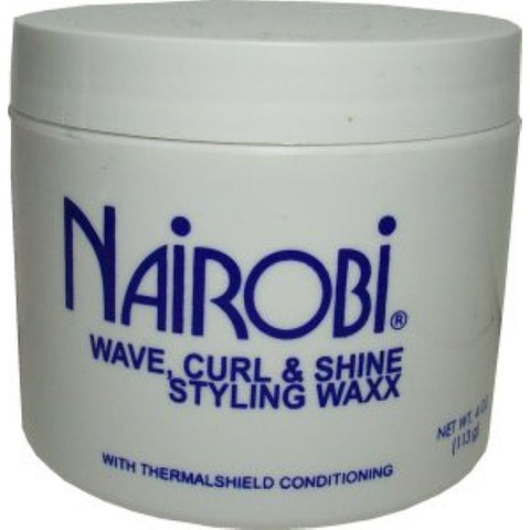 Nairobi Wave Curl & shine Styling Waxx- 4oz