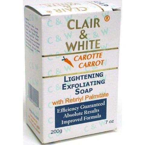 Clair and White Lightening Exfoliating Soap - 7oz CAROTTE CARROT
