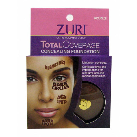 Zuri Total Coverage Concealing Foundation - 3 Pack