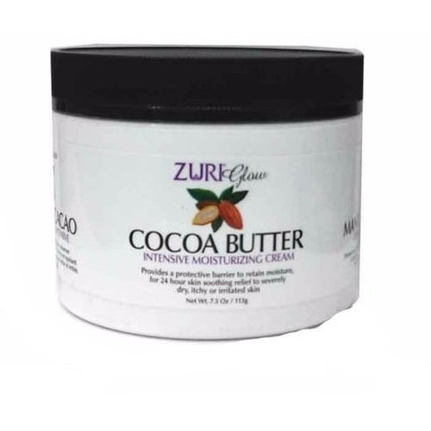 Zuri Glow Cocoa Butter Intensive Moisturizing Cream - 7.5oz