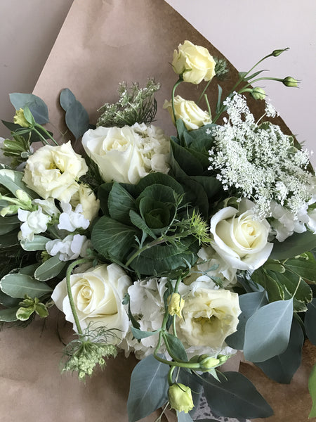 Hand-Tied Bouquet- Neutrals
