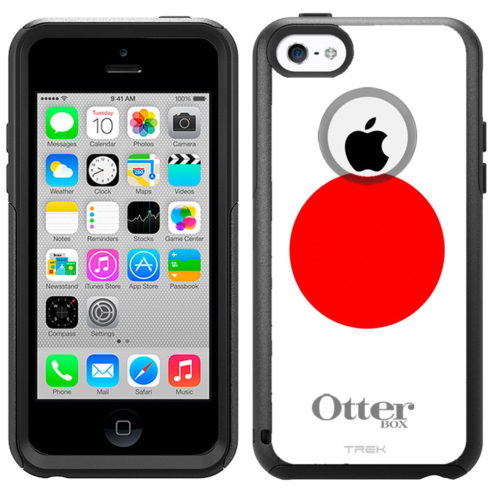 Apple iPhone 5C Japan Flag Otterbox Commuter Case