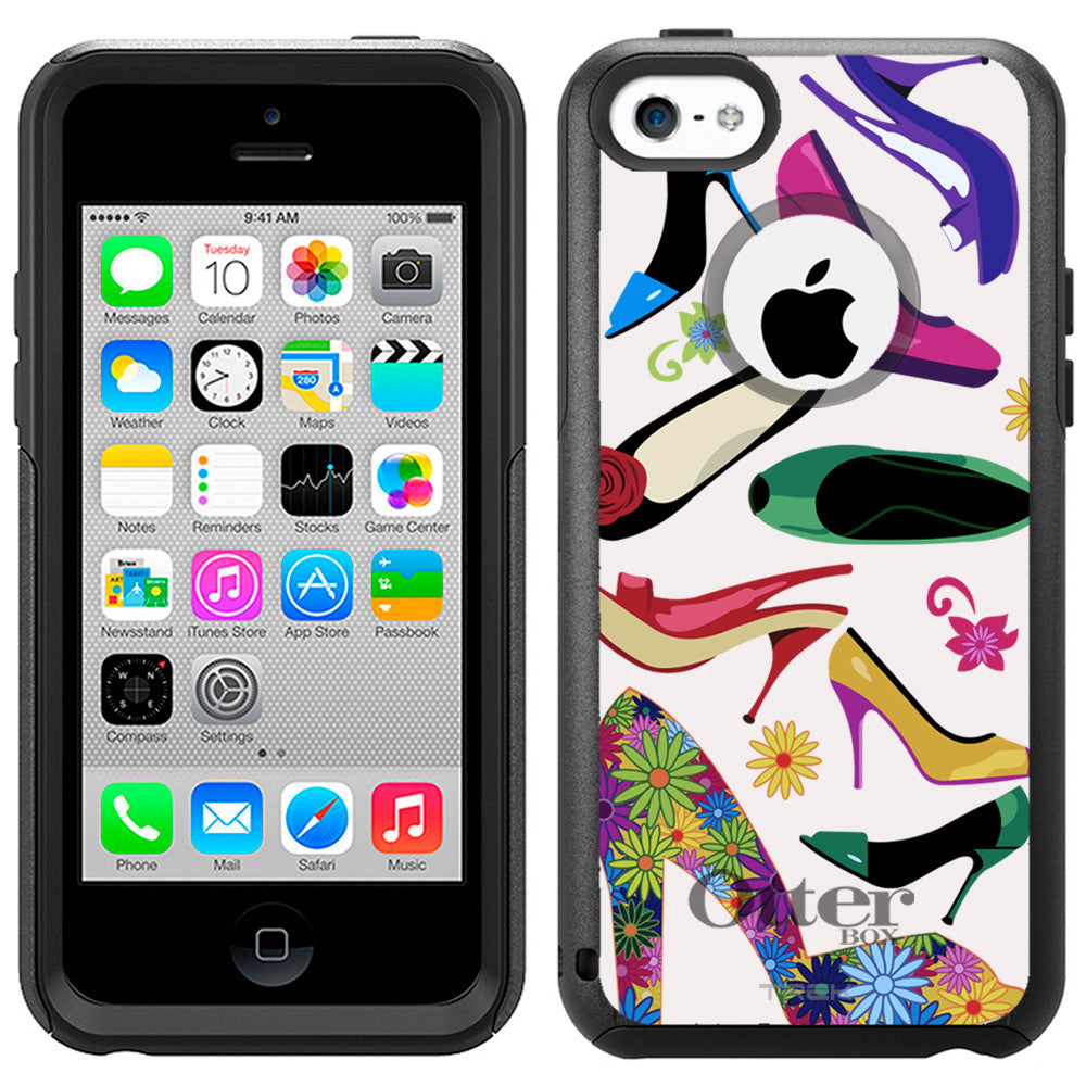 Apple iPhone 5C Colorful Sexy High-heeled Otterbox Commuter Case