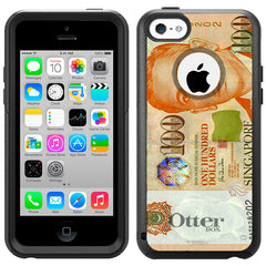 Apple iPhone 5C 100 Singapore Dollars Otterbox Commuter Case