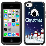 Apple iPhone 5C Merry Christmas Snowman Otterbox Commuter Case