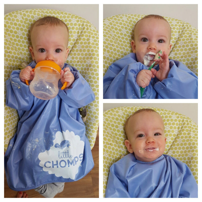 Little Chomps Messy Meal time Smock Review