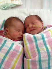 My Twin birth story - Welcome to the world Ava Elizabeth and Riley Grace.