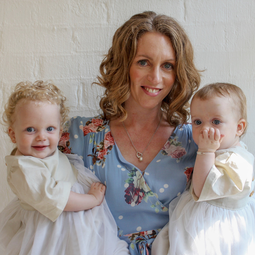 The lonliness of being a twin mum. By Claire Wallace.