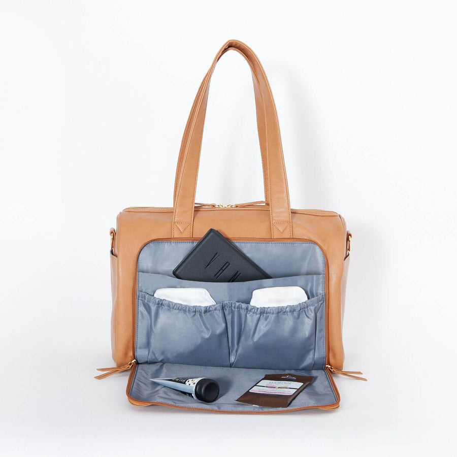 Maya Holdall Nappy Bag with bonus pram clips!