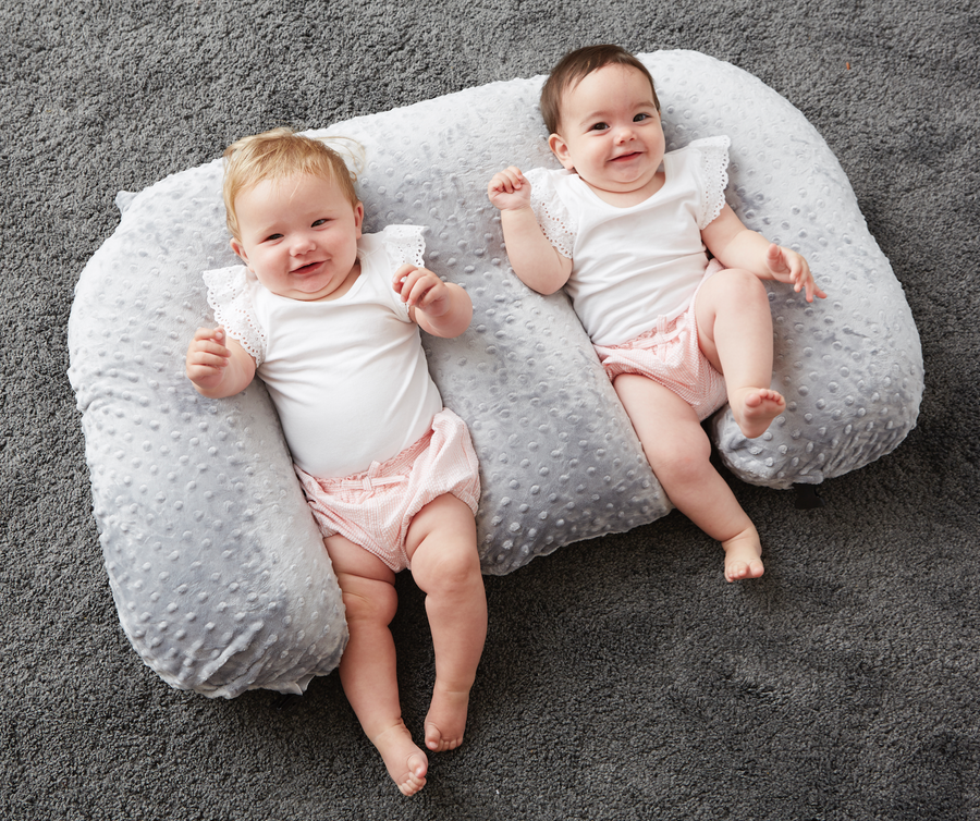 Twin Feeding Pillow - 1 cover included