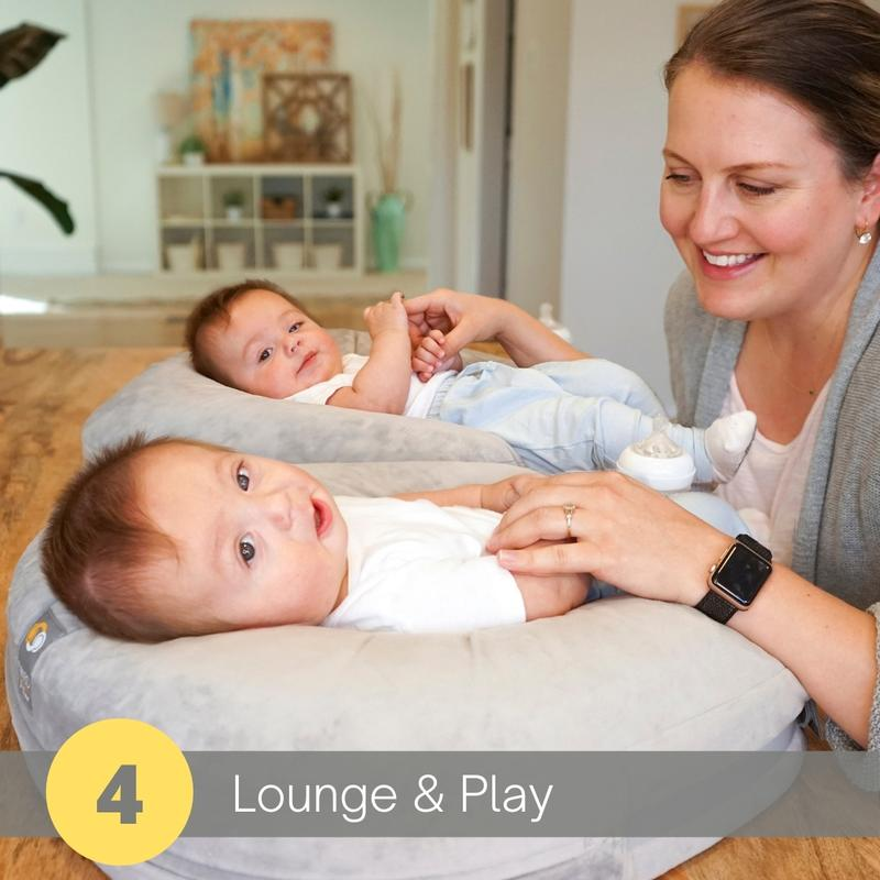 twingo nurse and lounge pillow lounge and play