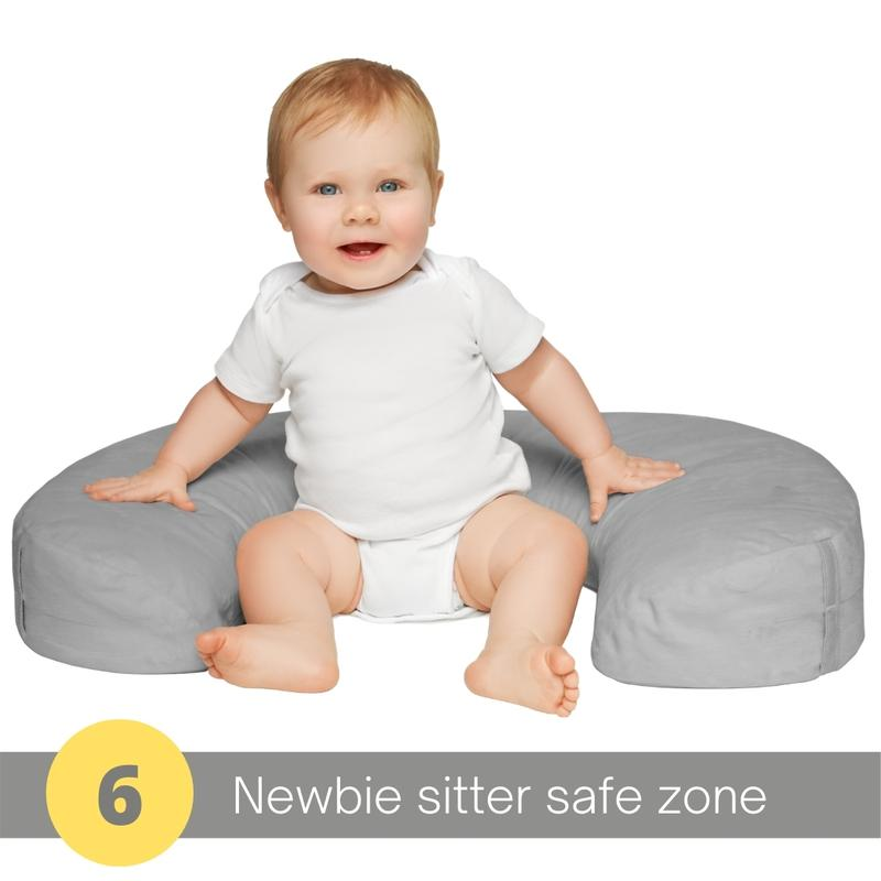 twingo nurse and lounge pillow safe for sitting babies