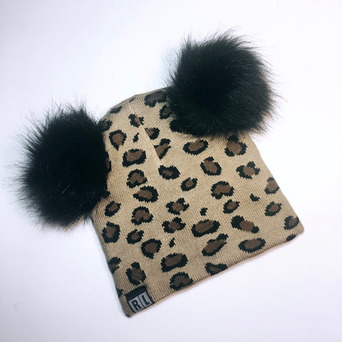 Leopard Bear beanie (limited edition)