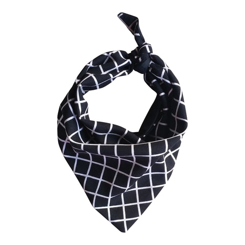 Grid Neck Bandana