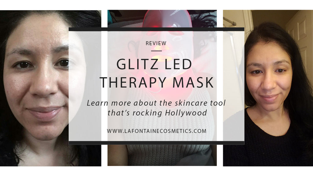 Review || Glitz LED Therapy Mask