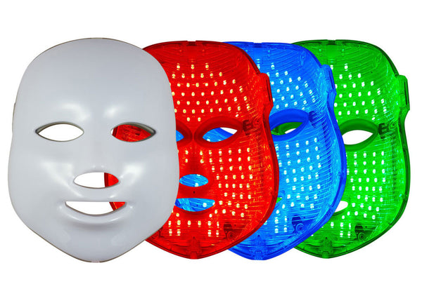 Glitz LED Therapy Anti Aging Mask - Daily Tricolor Phototherapy Solution - La Fontaine Cosmetics  - 1