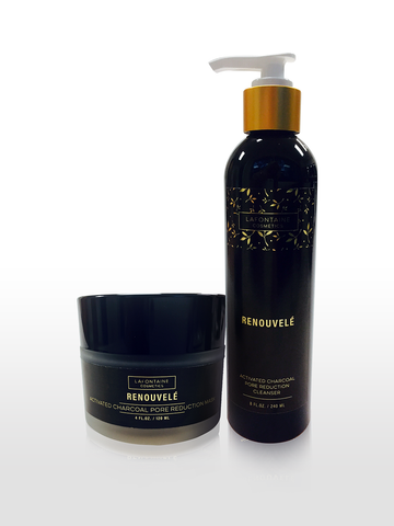 Cyber Monday 2019 - Renouvele Activated Charcoal Pore Reduction Cleanser & Masque Bundle