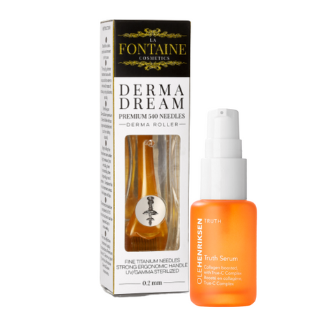 Ole Henriksen Bundle - Truth Serum + 0.5 mm Dermadream Dermaroller