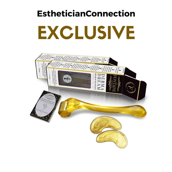 EstheticianConnection Exclusive DermaDream Eye Lines Eraser Bundle - La Fontaine Cosmetics  - 1