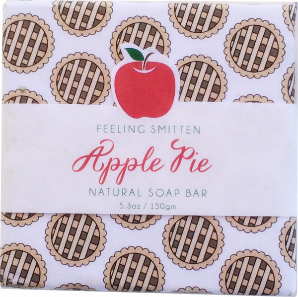 Feeling Smitten Apple Pie Soap 5.3 oz Bar - La Fontaine Cosmetics