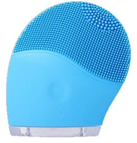 DermaDream Silicone Sonic Brush - Blue - La Fontaine Cosmetics  - 1