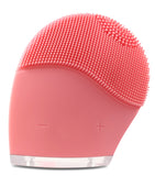 DermaDream Silicone Sonic Brush - Light Pink - La Fontaine Cosmetics