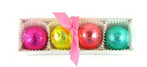 Feeling Smitten Shower Truffle Sampler 4 Pack - La Fontaine Cosmetics  - 1