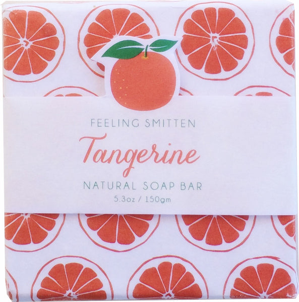 Feeling Smitten Tangerine Soap 5.3 oz Bar - La Fontaine Cosmetics