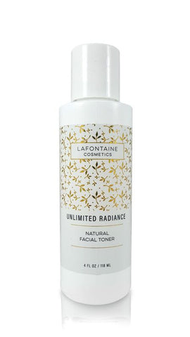 Unlimited Radiance All Natural Toner - La Fontaine Cosmetics  - 1
