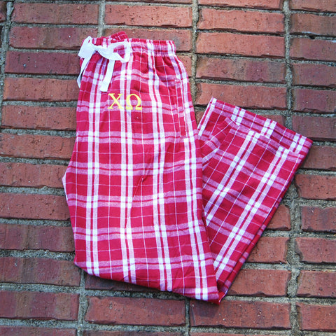 Cardinal Flannel Pant