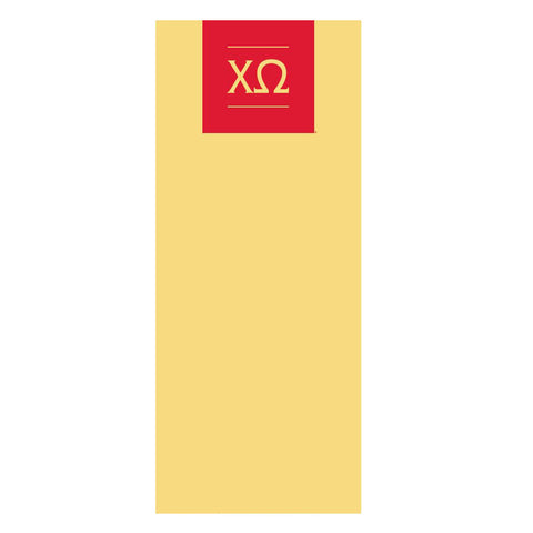 ΧΩ Logo Pop Up Banner