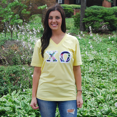 Lemon V-Neck Tee